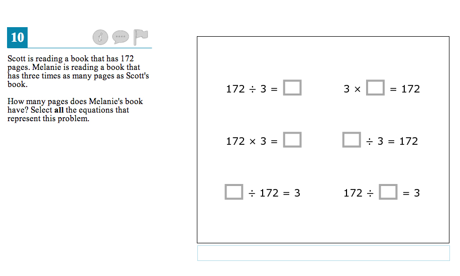 Test questions: 4th-grade math : American RadioWorks