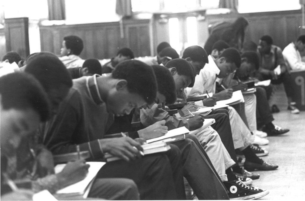 Students at the nation's first career academy at Thomas Edison High School in Philadelphia, 1969. (Photo: Philadelphia Academies Inc.)